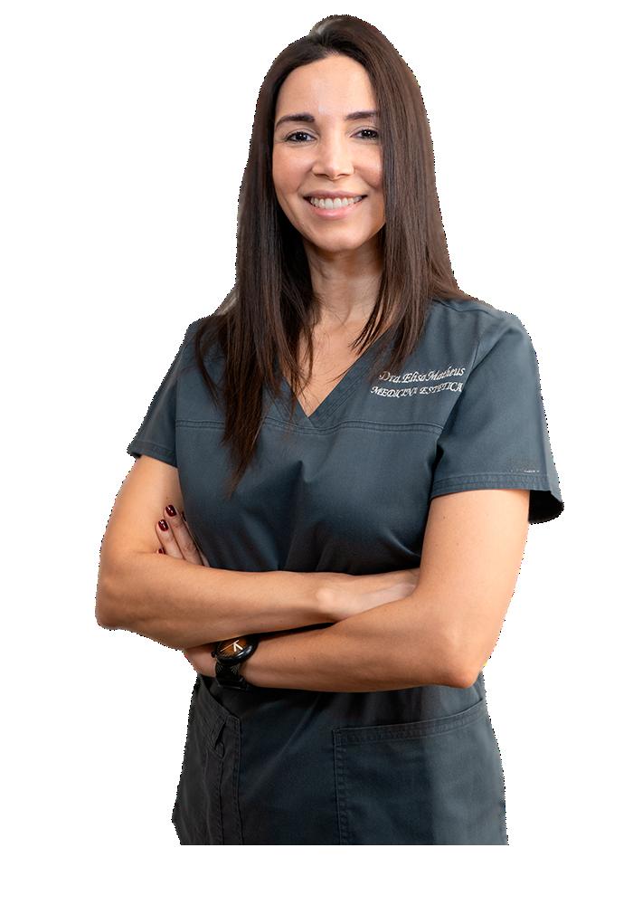 Dra Elisa Matheus en consulta