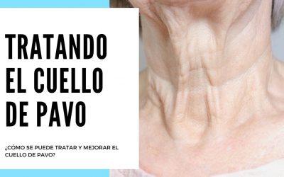 ¿Cómo se puede tratar y mejorar el cuello de pavo?